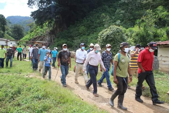 Alcaldía de Comayagua construye amplio centro comunal en la comunidad de San José de Río Blanco