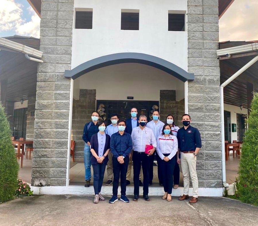 Embajador de Taiwan visitó Agroindustrias Del Corral