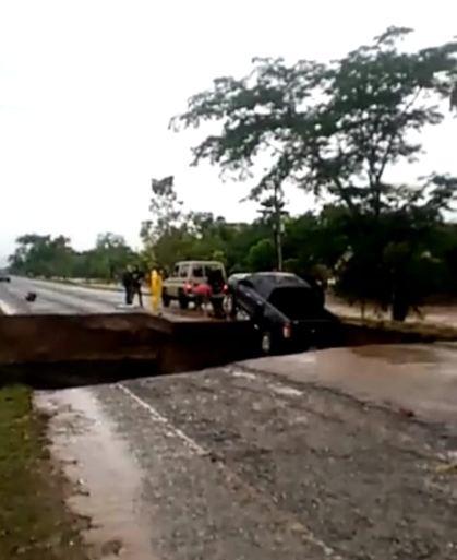Estos son los pasos boqueados por #HuracánETA en Honduras
