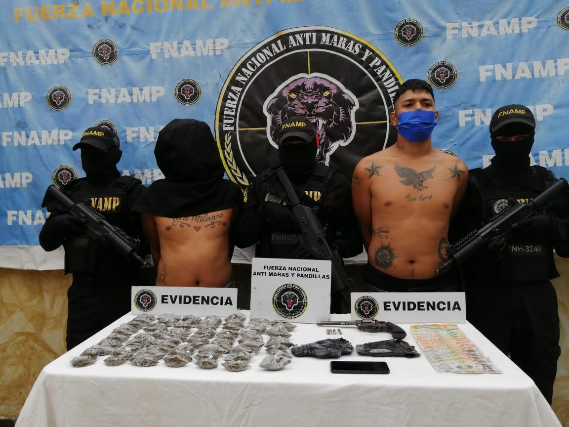 FNAMP mediante la Operación Gedeón logra detener a 36 personas miembros de Maras y Pandillas en la región central del país