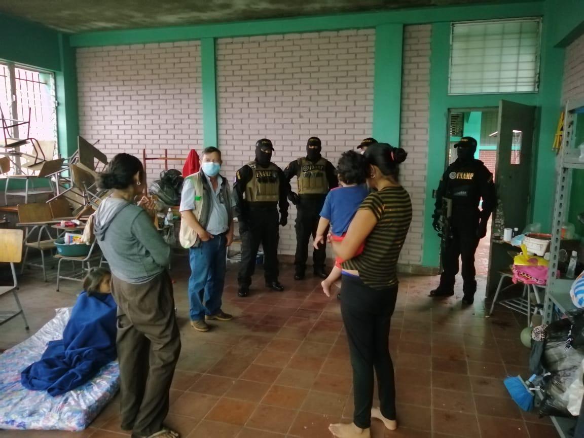FNAMP desarrolla actividades sociales en apoyo a personas afectadas por las tormentas tropicales Eta e Iota