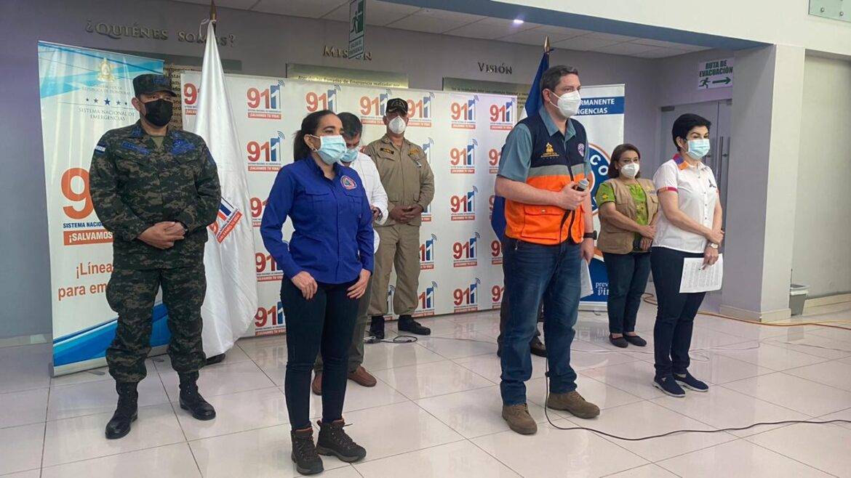 Copeco ratifica alerta roja en todo el país ante amenaza de nuevo ciclón