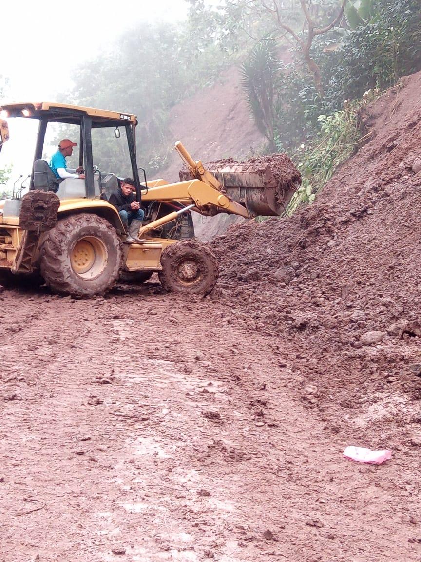 Municipalidad de Siguatepeque inicia reparación de carreteras en la zona rural