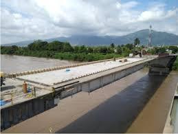 Inhabilitado tramo que conduce de San Pedro Sula hacia El Progreso por fuertes crecientes