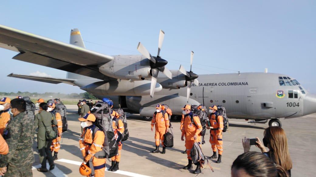Colombia envía a Honduras un hospital, equipos y personal como ayuda de emergencia
