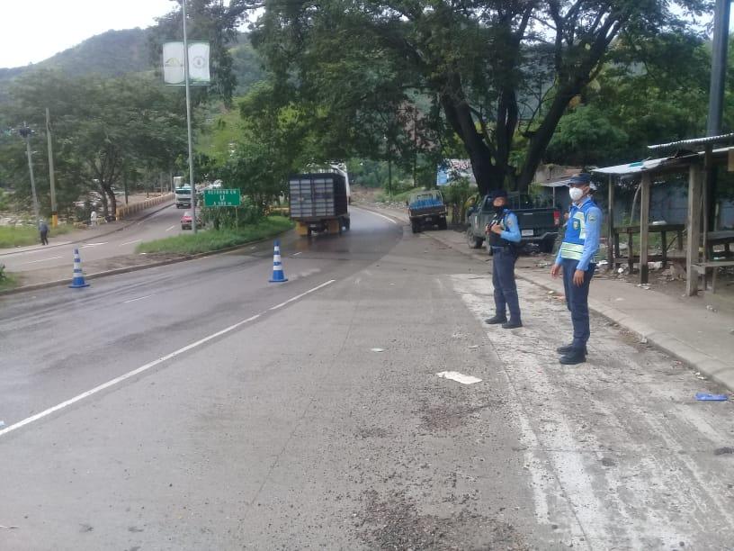 Patrulla de carreteras reporta accesos habilitados en zonas afectadas por fenómeno IOTA