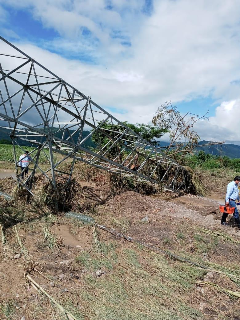 Iota golpeó infraestructura de alta tensión como lo hizo Eta