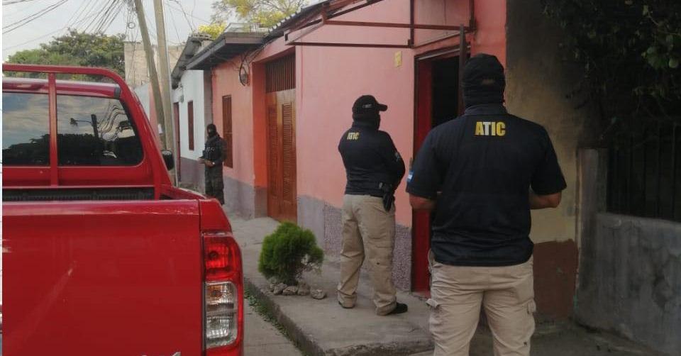 ATIC inicia allanamiento y captura por caso de trata de personas