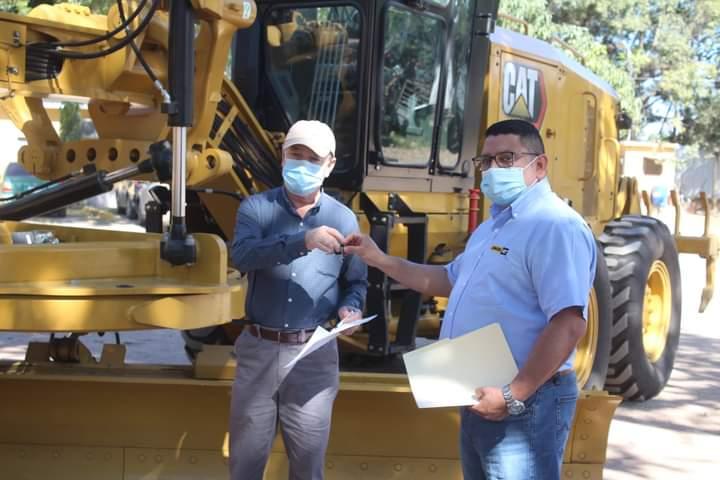 Alcaldía de Comayagua compra maquinaria para fortalecer los trabajos de rehabilitación de carreteras en el municipio
