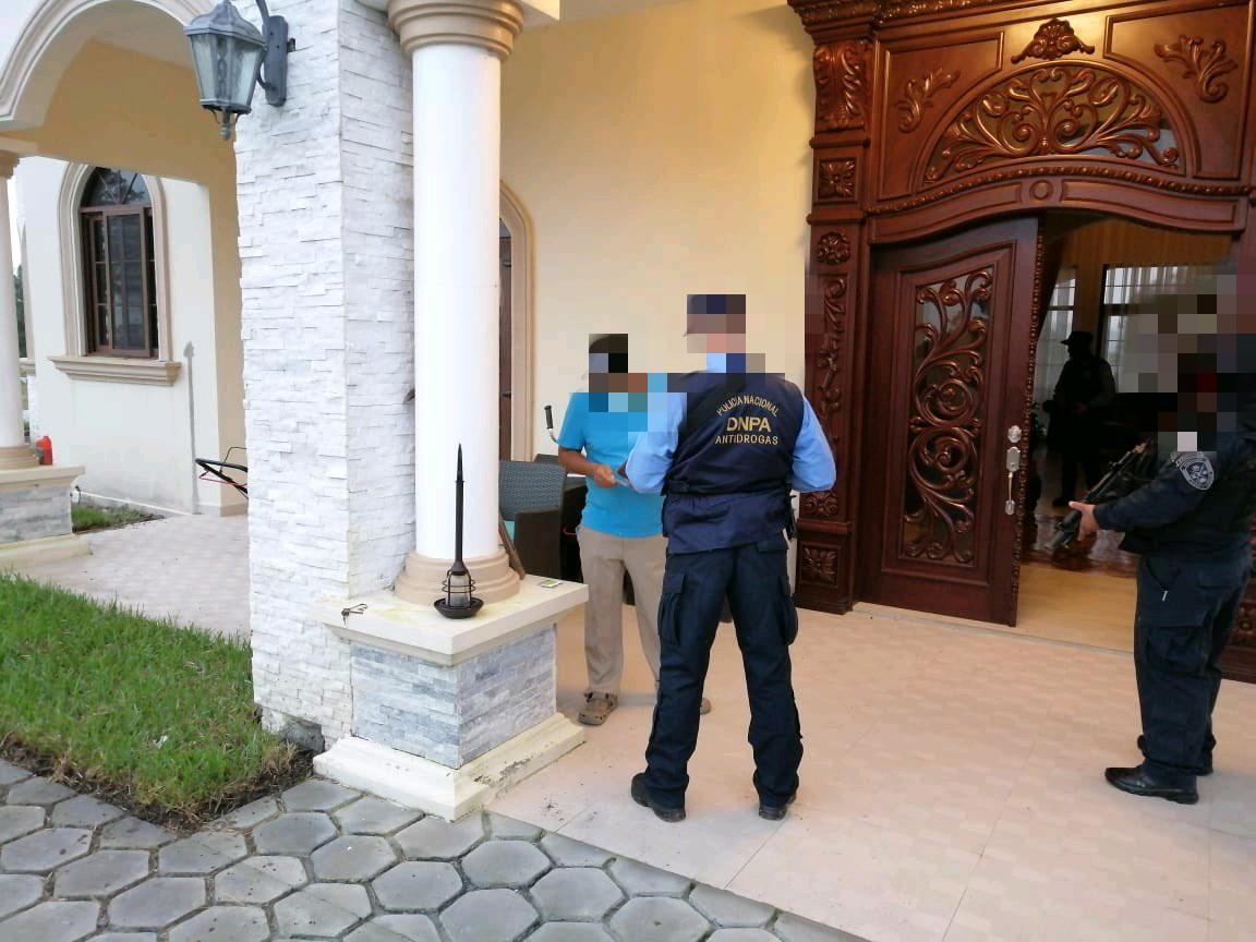 Capturas decomisos e incautación de bienes resultados de las acciones policiales en la zona noroccidental del país