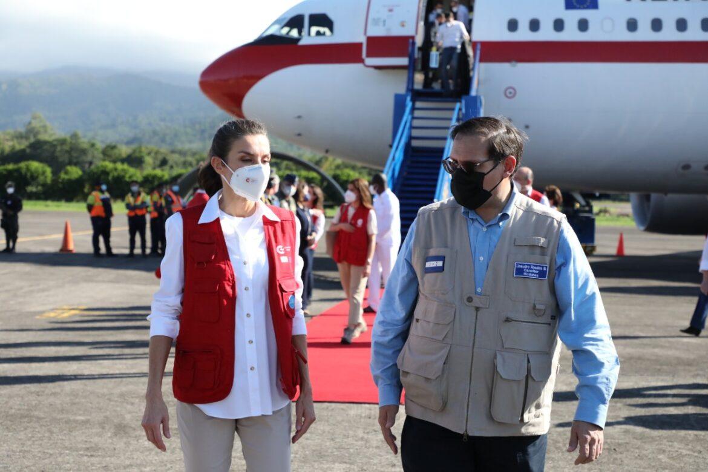 Honduras da la bienvenida a Su Majestad la Reina de España
