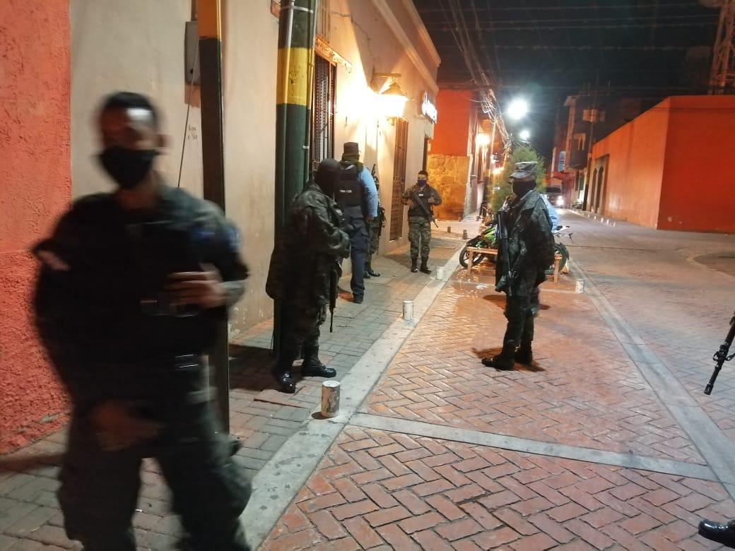 Cierre de negocios en Comayagua, tras Emergencia Nacional.