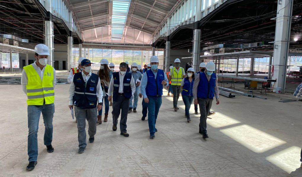 Comitiva del Gobierno realizó visita de campo, en las instalaciones del Aeropuerto Internacional de Palmerola.