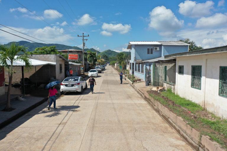 Operación No Están Solos entrega limpia la colonia Real del Campo de San Manuel, Cortés