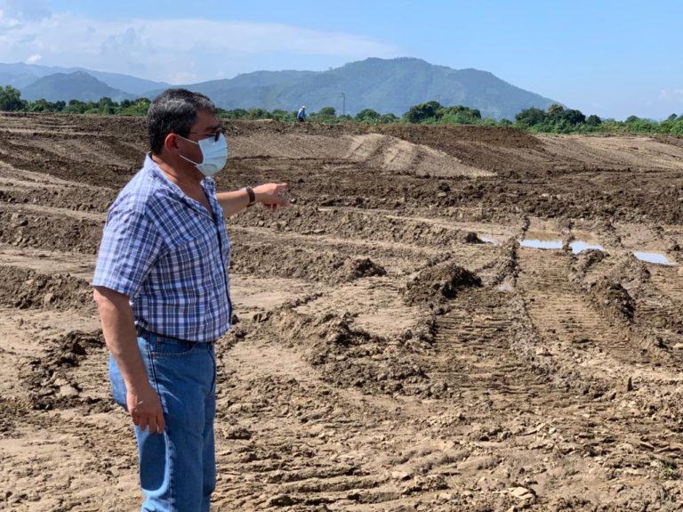 Gobierno desarrolla 15 proyectos de construcción, reconstrucción, dragado de ríos y mitigación en Chamelecón