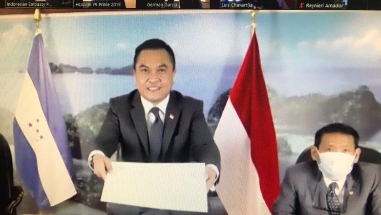 Nuevo embajador de Indonesia en Honduras presentan Copias de Estilo
