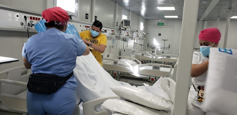 Hospital Modular de Tegucigalpa recibe primeros pacientes