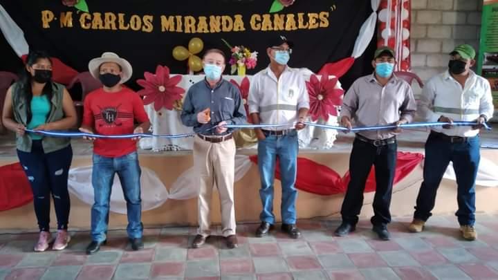 Alcaldía de Comayagua construye un amplio y digno centro comunal en la comunidad de San José de Pane