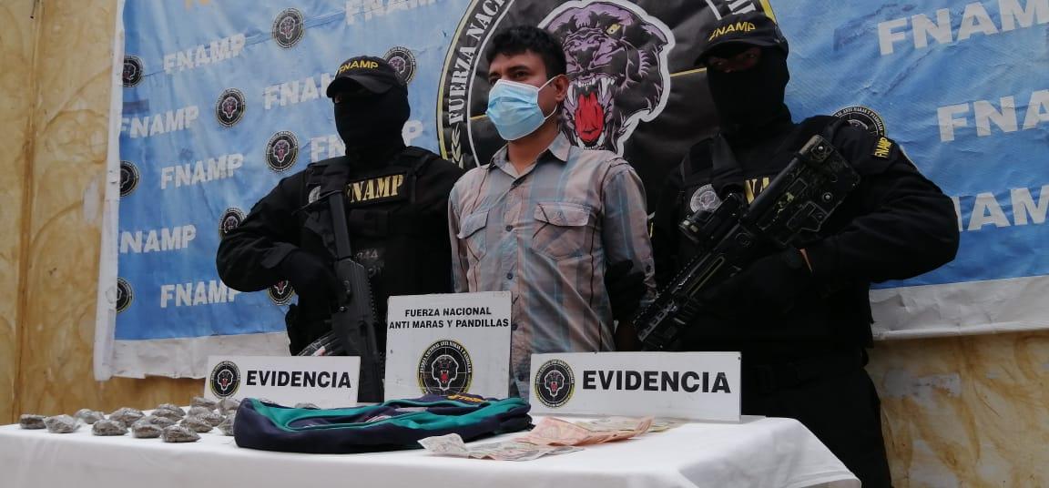 FNAMP detiene a distribuidor de drogas en Lejamaní
