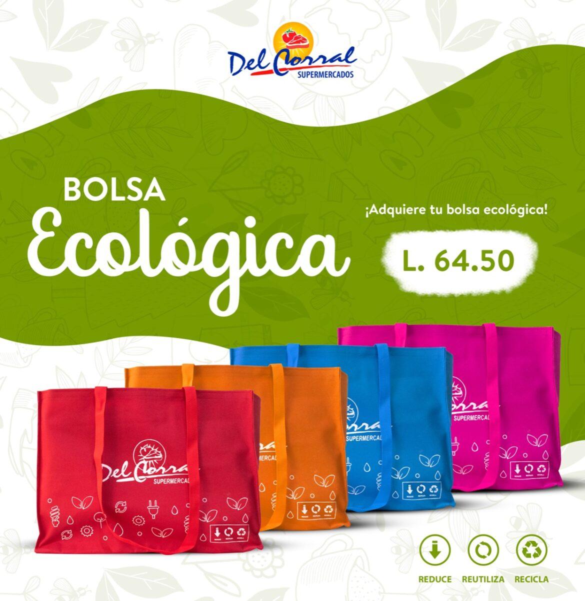 En Supermercados Del Corral «Juntos hacemos la diferencia» adquiere tu bolsa ecológica