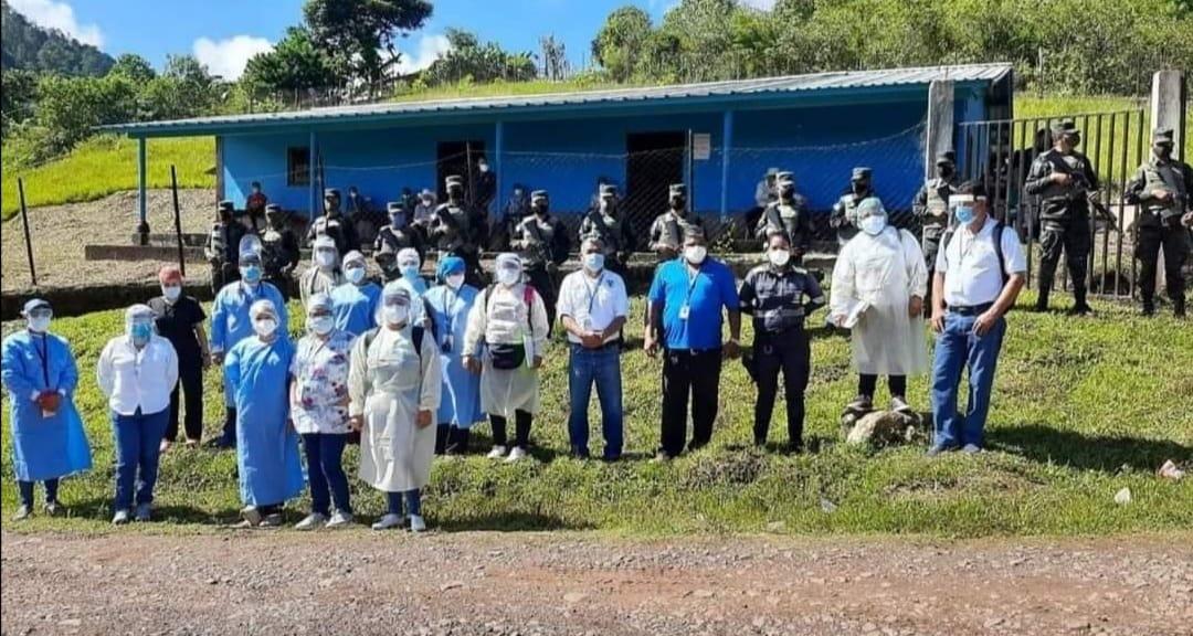 Inicia movilización «Todos contra el COVID-19» en el altiplano central de Honduras