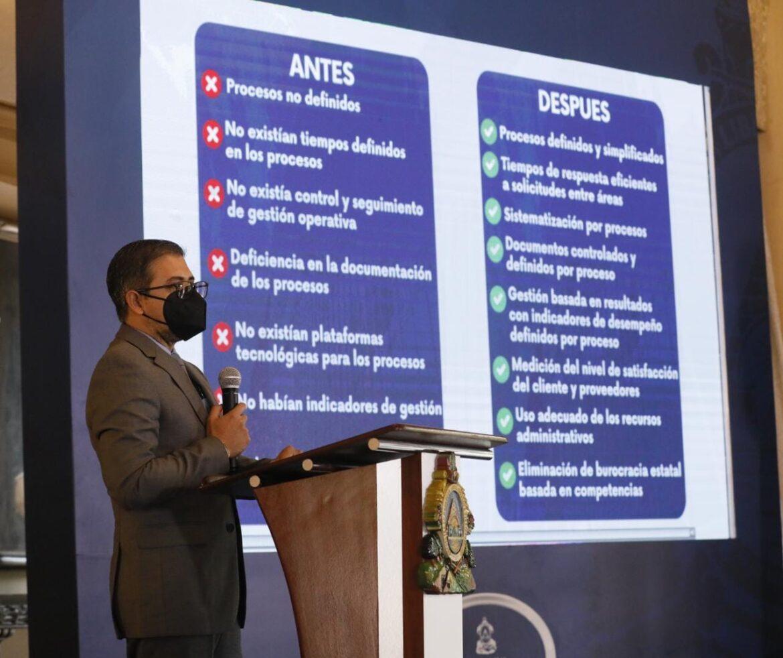 Presidencia de Honduras, la primera en Centroamérica en recibir certificado ISO 9001:2015