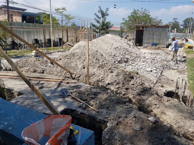 Inician trabajos de construcción del «Parque Para Una Vida Mejor» en el barrio El Carmen