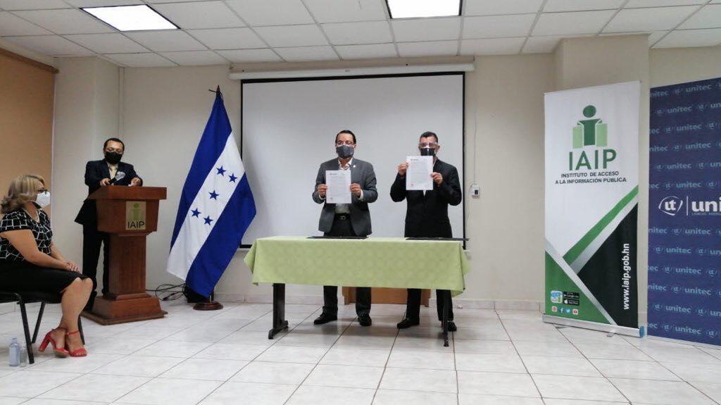 IAIP y UNITEC firman convenio de cooperación interinstitucional