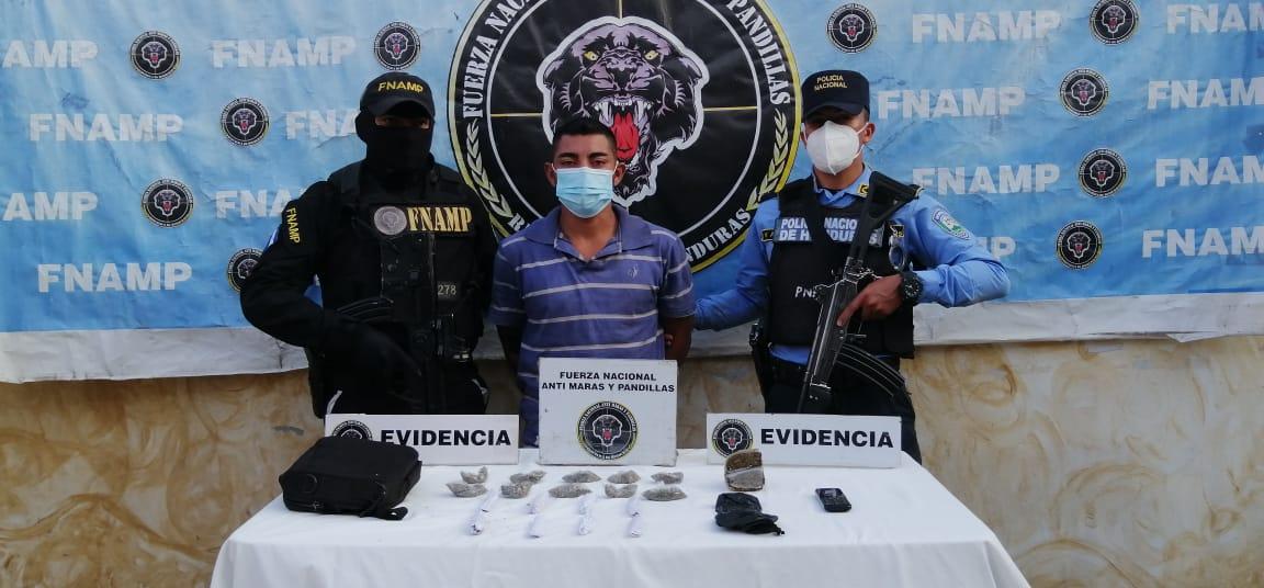 El despliegue operativo contante que mantiene la FNAMP en la región central del país continúa dando desarticulando las redes de tráfico de drogas