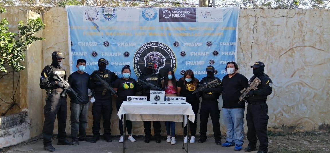 FNAMP detiene a cinco miembros de la Organización Criminal Pandilla 18 quiénes pretendían ampliar el cobro de extorsión a la ex capital del país