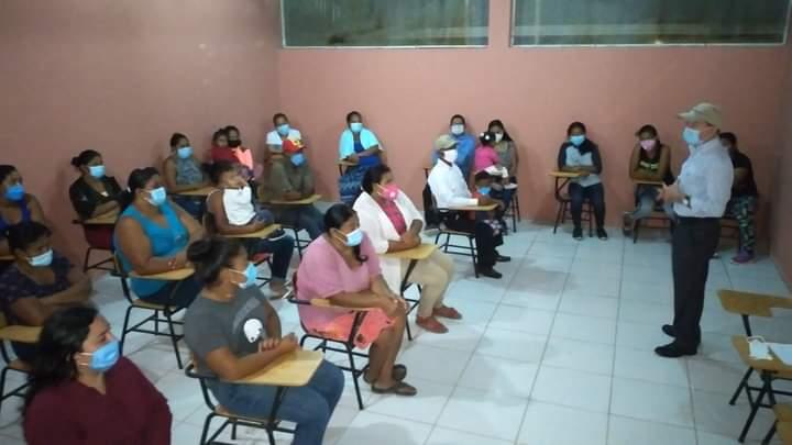 Alcaldía de Comayagua construye primera planta para aula tecnológica en la comunidad de Isla del Triunfo