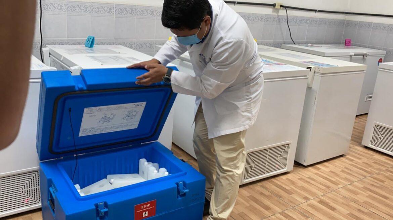 Vacunas contra el COVID-19 llegan a San Pedro Sula