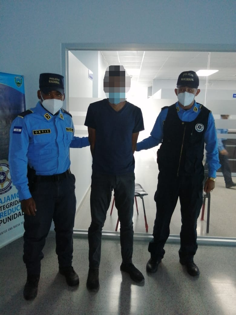 Una persona es capturada por actos de lujuria agravados en Siguatepeque