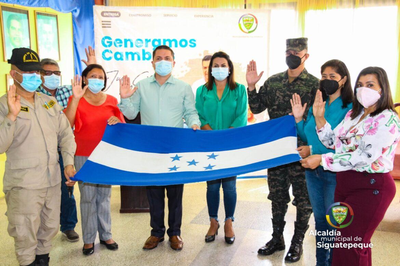 Eligen Comité Bicentenario Independencia Siguatepeque 2021