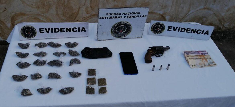 FNAMP en dos operaciones simultáneas captura a Cabecilla de Organización Criminal Mara Salvatrucha MS-13 y un distribuidor de drogas en el municipio de La Paz