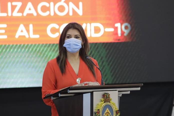 Alba Consuelo Flores: estamos preparados para la distribución y aplicación de la vacuna de la COVID-19