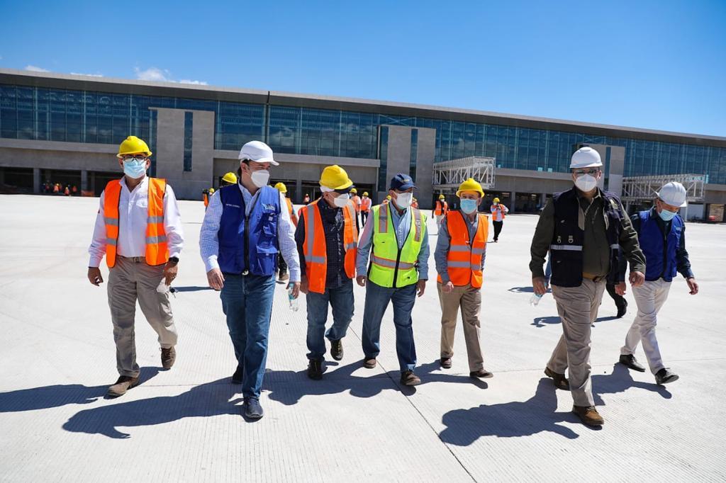 Aeropuerto de Palmerola trabajará las 24 horas del día y tendrá flujos de embarque rápidos y directos