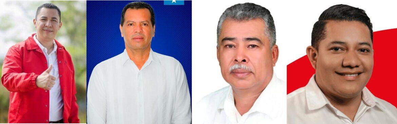 Cuatro regidores municipales buscan ser alcalde de Siguatepeque
