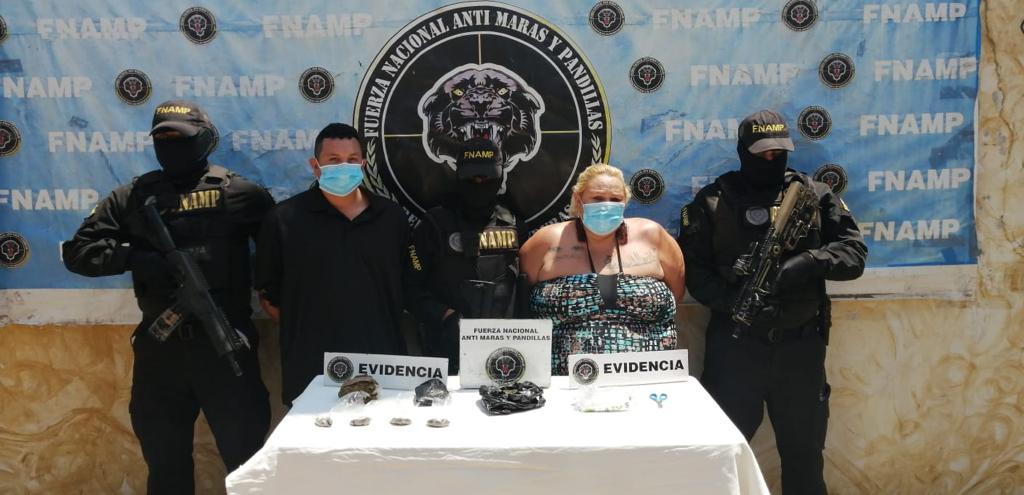 FNAMP detiene a taxista que se dedicaba a la venta y distribución de drogas junto a su madre alias «La Doña» en Siguatepeque