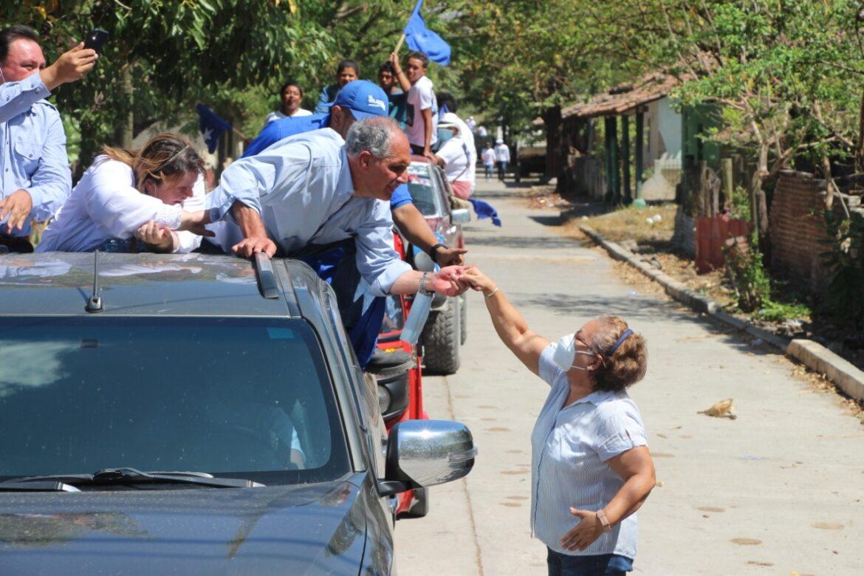 Salgan a votar este 14 de marzo pide Papi a la Orden en la región sur de Honduras