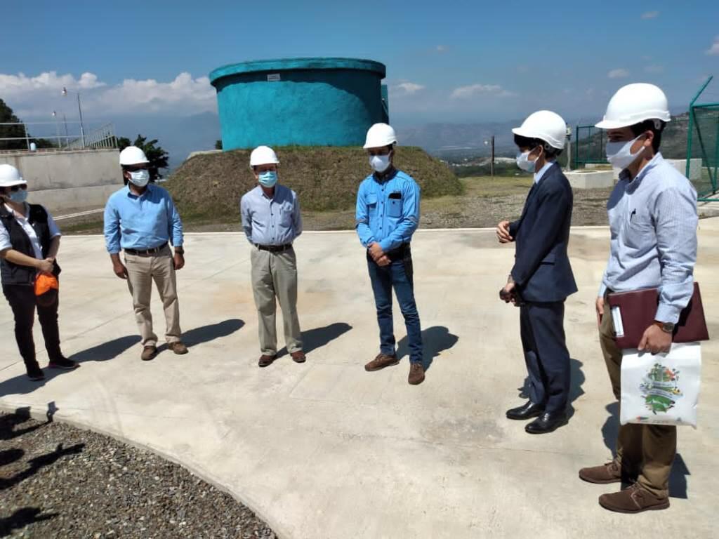 Japón visita proyectos que ejecutan en Comayagua y Tegucigalpa