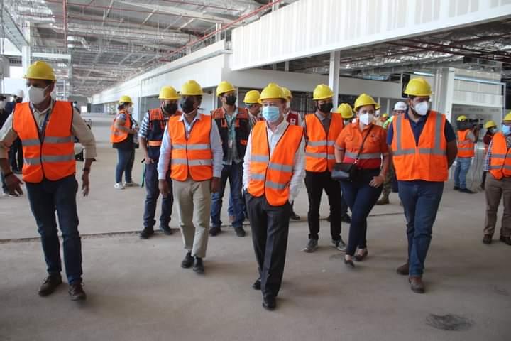 Alcalde Carlos Miranda participan en elaboración de plan de emergencia del aeropuerto internacional de Palmerola