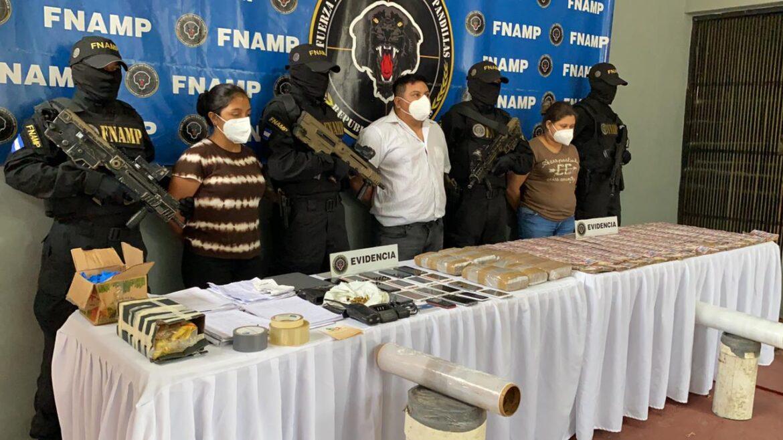 Con más de medio millón de lempiras, la FNAMP captura cabecilla de una organización criminal
