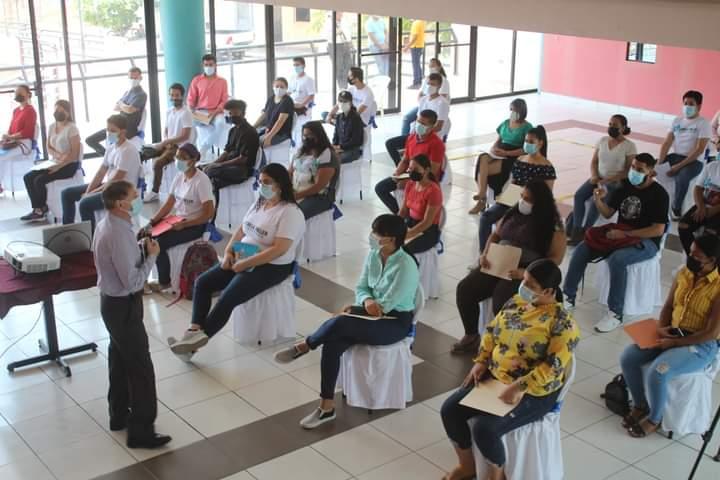 Alcaldía de Comayagua, AMEXCID y el Instituto de la Juventud, socializan programa de jóvenes construyendo el futuro