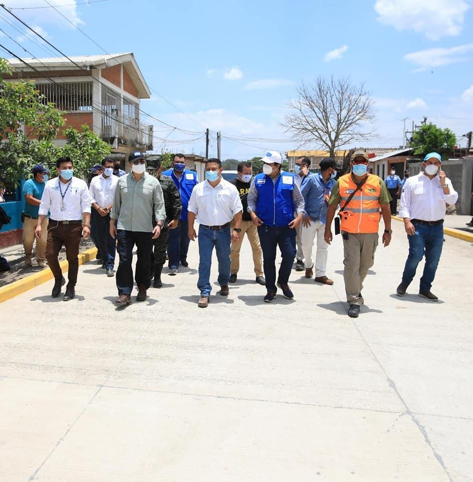 Honduras Se Levanta mejora la vida de vecinos del barrio Zaragoza de Siguatepeque