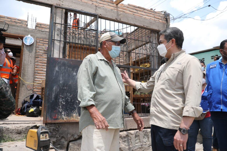 Más de 1,700 personas serán beneficiadas en la colonia José Ángel Ulloa con obras de Honduras Se Levanta