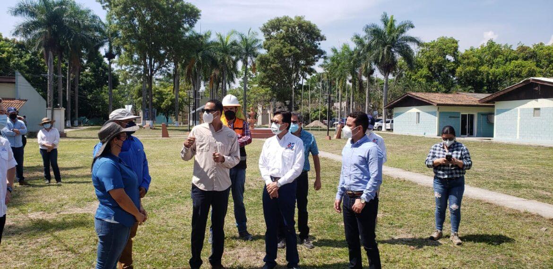 Supervisan avances de construcción del Primer Centro de Innovación Tecnológica y Agrícola (CITA)