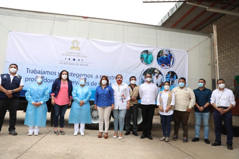 Todos Contra la Covid-19: Inicia entrega masiva de Equipo de Protección Personal en regiones de salud y hospitales del país
