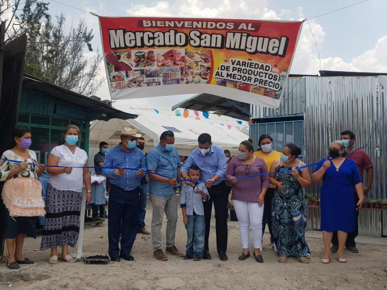 Alcalde de Siguatepeque reaperturó mercado San Miguel