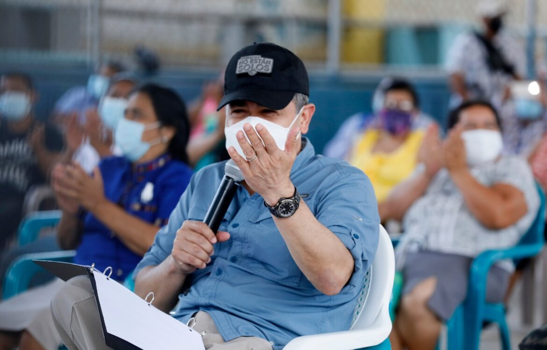 """Presidente Hernández: """"Sé que le voy a heredar un país más seguro al Gobierno que venga"""""""